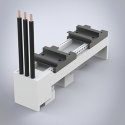 Busbar adapter, 32A with cables Web Product Image