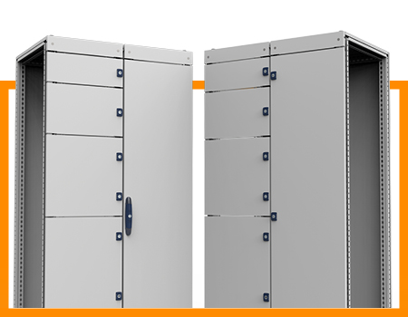Easier handling with upgraded doors for power distribution